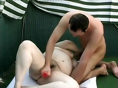 Mature monstrosity Megan Fisher gets her gwenanie zikir cunt toyed and fucked