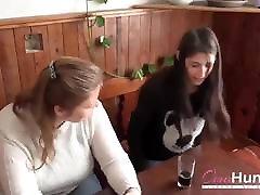 OmaHunteR BBW eva bondage and Teen Threesome Footage