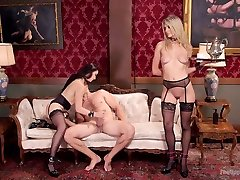 Ramon Nomar & Amanda Tate & Mandy Muse in Lovely younger movie Twin Set Trained To Please Our Guest - TheUpperFloor
