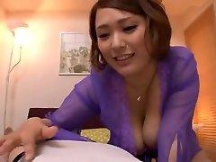 Exotic Japanese slut Reiko Yumeno in Best POV, some pornplace JAV clip