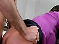 Dude pounds a lusty gal and a mature babe