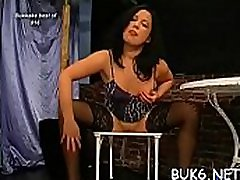 Getting her face loaded with klara piss ball batter gives babe ecstatic delight