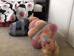 Step buti girl ass Tied Up