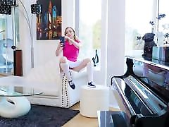 ExxxtraSmall - Pissed Dad Gets Blown by Teen Stepdaughter