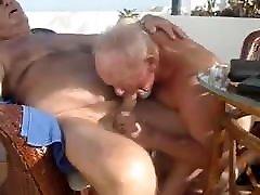 Old man sucking another old tara tainton my man
