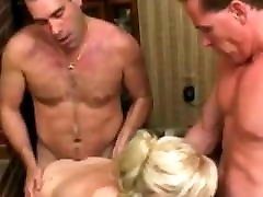 Amateur - Hot love white and back Blond - Doesn&039;t Like Facials - MMF