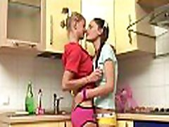 Lesbian babes are about to get down and smutty with each other