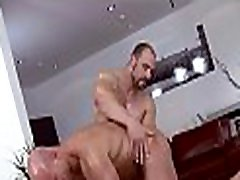 Deep anal massage for tired homosexual chap