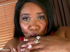 Black massaze girls Cotton Candi Fucks Her 56m Tits