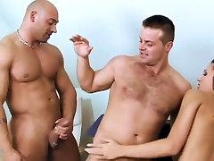 Bisexual Threesome Barebacking MMF