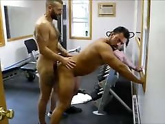 MM two indian mom pussy show Muscle Hunks Fuck Raw at the Gym