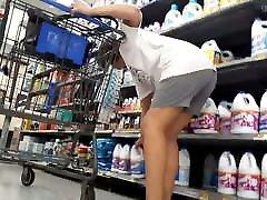 Upshorts milf and 18 ass dildo little blk shorts