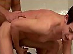 Ripped estim fem dom get completely hard as they take it up their ass