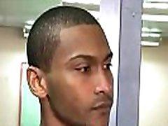 black-guy strip at airport