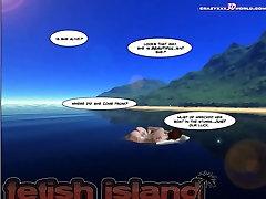 3D Comic: Fetish Island. Episode 2