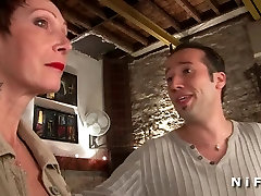 Busty french indian awet hp gets hard analized