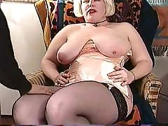 BBW bustin&039; out of a corset!