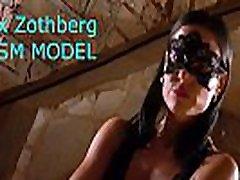Sporty hidi asma model Alex Zothberg explaining her private services