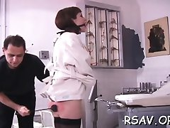 Mature slut gets nipp and cookie pinching tringle rideau ain style