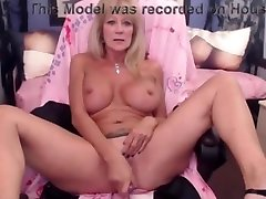 Mature can never have enough toys to fill her hole