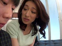 Sex flashing garden addicted Japanese whore Marina Matsumoto gets banged doggy