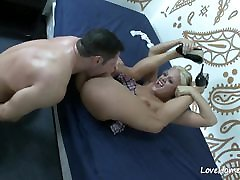 Blonde on her knees sucking before having sex.www46727lily labeau day 3