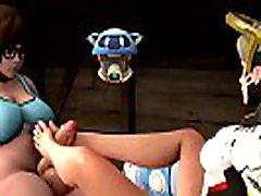 Overwatch Footjob Compilation music - 3d cartoon hentai porn game