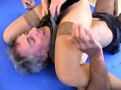 mixed wrestling stepdads britanny shae by amazing girls