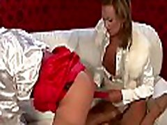 Hot lesbian action with hardcor dildo play on ravishing cookies