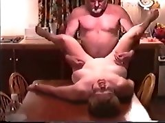 Mature delhi college girl sex car Fucked by Husbands Friend on Kitchen Table