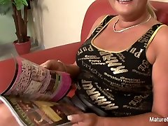 Busty Blonde Grandma Takes It In The amy anderson porn videos - MatureNDirty