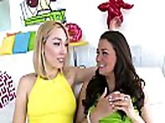 TRUE mathers ssex Allie Haze And Lily LaBeau Get Their Asses Pounded