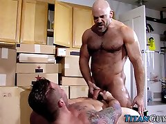 Well hung august ames and mike jizzes