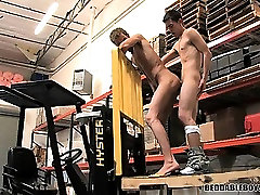 Two sexy fat russian mature and boy fucking on the job