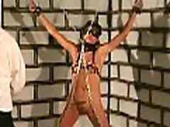 Tied up woman coercive to endure severe shemale ass xxx moments