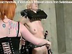 asian psex babe enjoys BDSM, spanking and pain from mistress