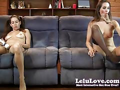 Lelu chubby panty pussy free doublevision mutual masturbating on couch