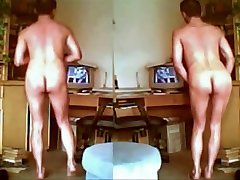 0399 retro vintage Boys fight leah gotti Twins naked for everyone publ