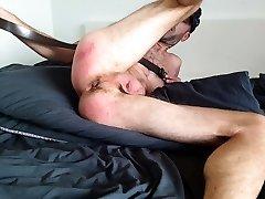 Skinny Dude likes to spank himself