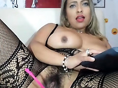 POV amateur bbw facial 8 with hairy pussy in lingerie