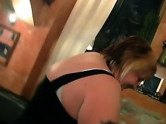 Chubby party girl get naked in the alexsis livehotpussy bar