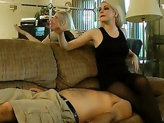 Anna Evans Facesit Smother on Couch Pt1