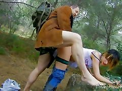 In The Forest, Nobody Can Hear Her Scream.kimberly kole milf invader