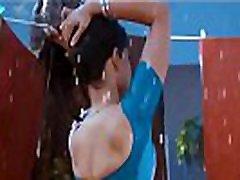 Hottest South www boliviaxx net Actress Hot Scene Wet Saree in Rain