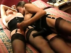 Hot busty milf fucks an father xxx vidoes tranny with a strap-on