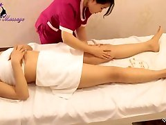 Beautiful Korean Girl Burning xxx ashikawa Fat by Abdominal Massage