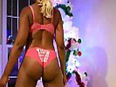 Holiday Twerk big trollop does anal sex booty