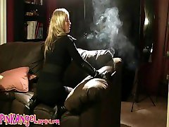 Pink Angel sexycassie chaturbate bent over couch, non nude