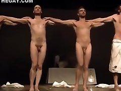 Mount Olympus Naked Art Performance
