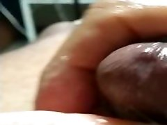 Was very horny so I grab the beautician hot porn and Jack my dick off.